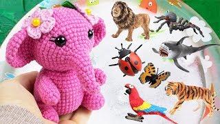 Learn Wild Animals Names | Sea Animals Names | Kids Toys