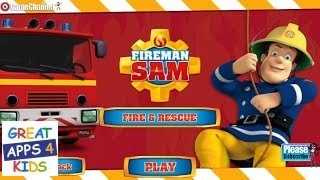 Fireman Sam: Fire and Rescue | Game App for Kids