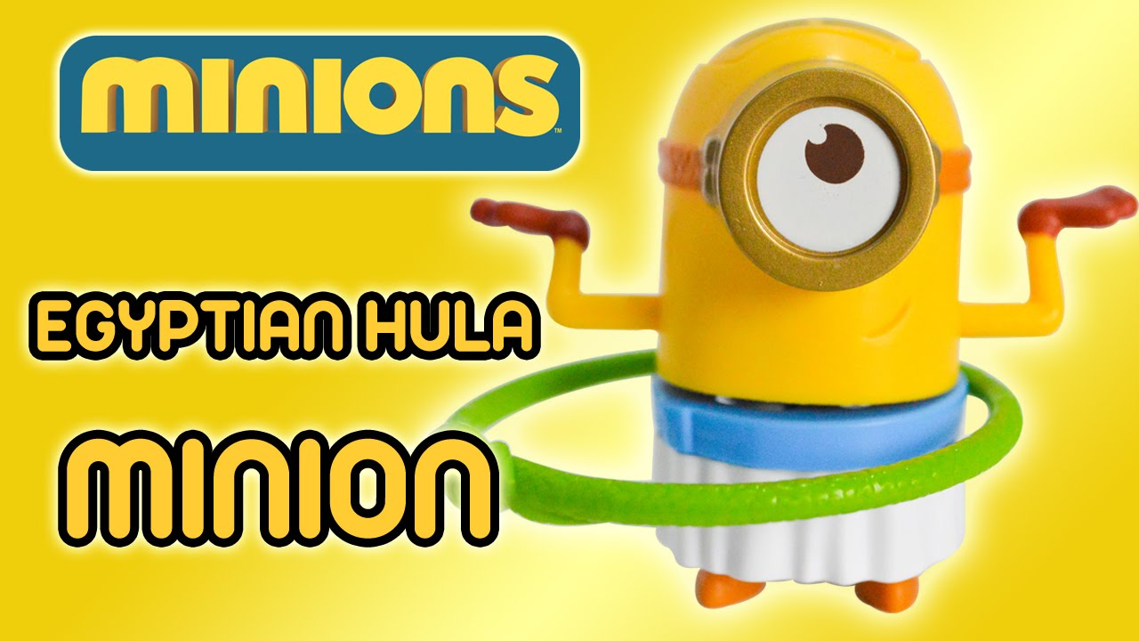 ian hula minion minions movie 2015 mcdonald s happy meal ian hula minion minions movie 2015 mcdonald s happy meal toy review by ilovethistoy