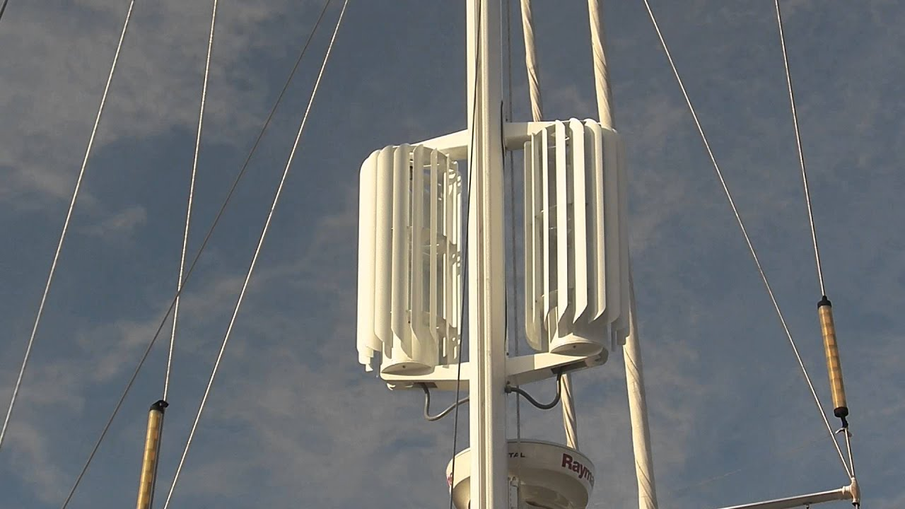 Mast-R Wind Powered Turbine System - YouTube