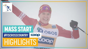 Bolshunov retains crown in Holmenkollen   Men's Mass Start   Oslo   FIS Cross Country