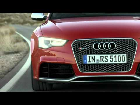 2013 Audi RS5 - Exhaust Sound, Driving