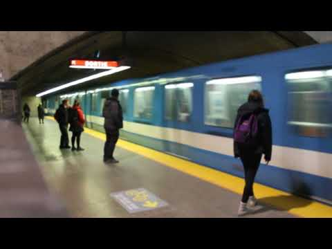 MONTREAL STM METRO ACTION - CADILLAC STATION