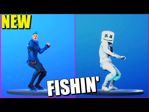 FORTNITE FISHIN EMOTE (1 HOUR)
