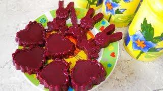 ✅Домашний ягодный МАРМЕЛАД для детей/ рецепты для детей/ мармелад/ агар-агар