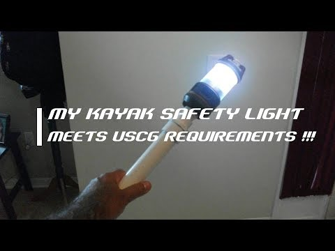 My DIY Kayak Safety Light - Florida Fish Hunter