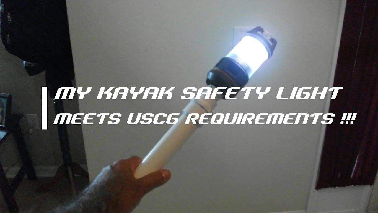 Beautiful My DIY Kayak Safety Light   Florida Fish Hunter Photo