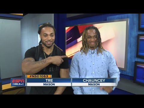 Tre and Chauncey Mason talk National Signing Day
