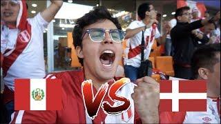 ASI SE VIVIO EL PARTIDO de PERU vs DINAMARCA desde RUSIA !!! *Mundial Rusia 2018*