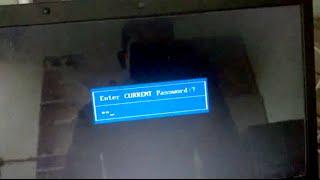 how to unlock eMachines e727 laptop bios password