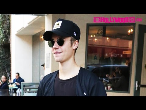 Justin Bieber Visits The Doctors Office & Goes Skateboarding 1.15.16 - TheHollywoodFix.com
