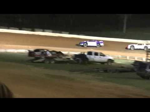 April 4, 2015 Street Stock Race at Natural Bridge Speedway
