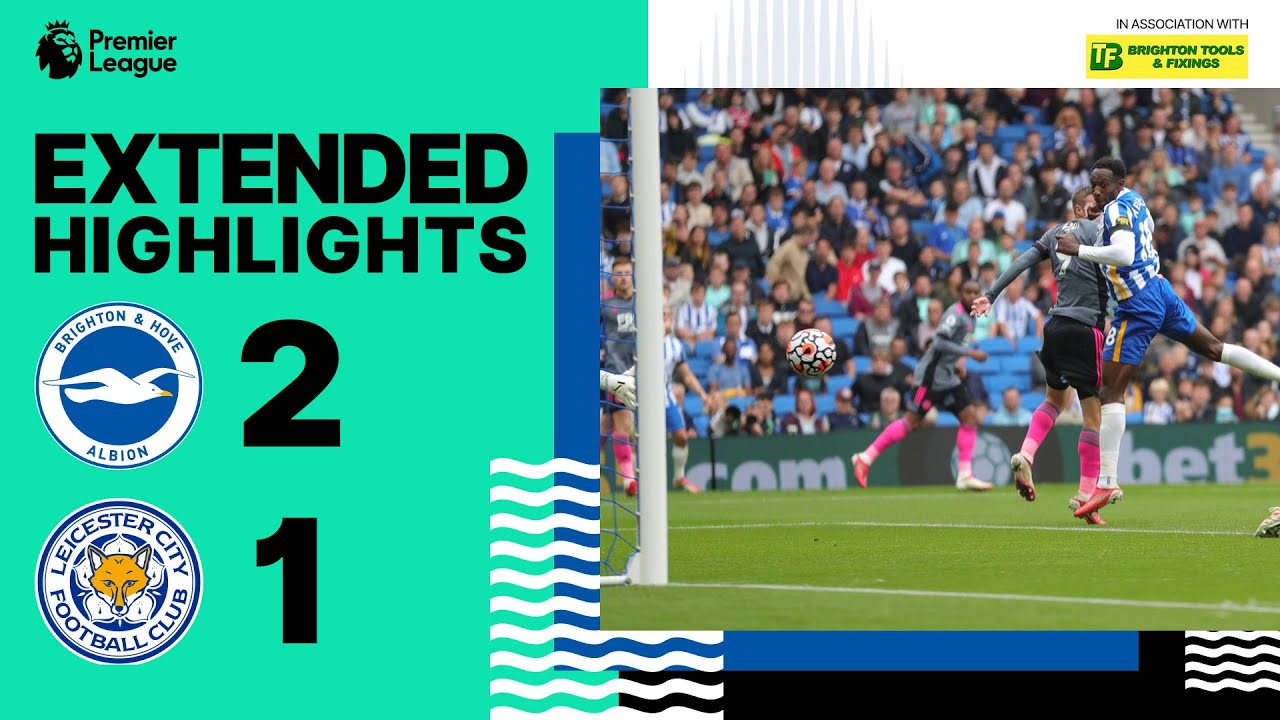Download Extended PL Highlights: Albion 2 Leicester 1