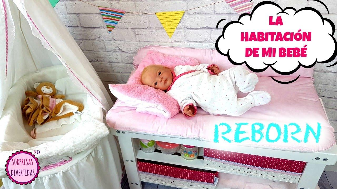 Habitaci n para el beb reborn y su regalo de reyes - Habitacion de bebe fotos ...