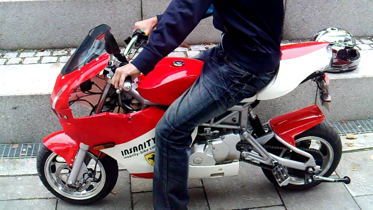 Onwijs Insanity 749 Midi bike StVO Zulassung Univiertel .MP4 - YouTube JS-13