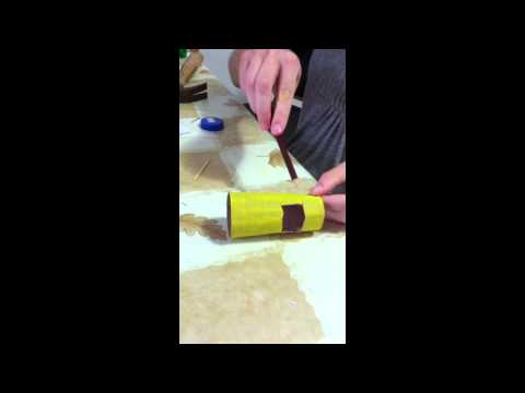 How to make a car from a toilet paper roll youtube for How to make a paper car that rolls