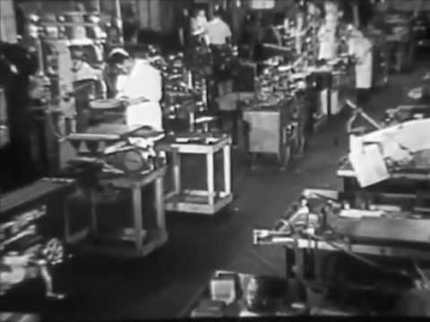 1950s Wurlitzer Factory Tour - Jukebox Manufacturing: A Visit to Wurlitzer - CharlieDeanArchives