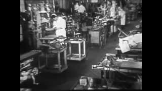 1950s Wurlitzer Factory Tour - Jukebox Manufacturing: A Visit to Wurlitzer - CharlieDeanArchives