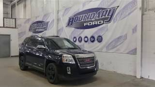 Pre-owned 2013 GMC Terrain SLT W/ 2.4L, Leather, Command Start Overview | Boundary Ford