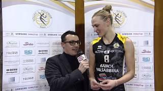 Intervista Pietersen Brescia - Novara