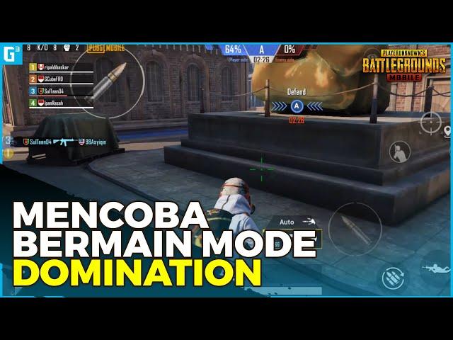 MIRIP MODE DI CODM? MENCOBA BERMAIN MODE DOMINATION - Gameplay | PUBG Mobile