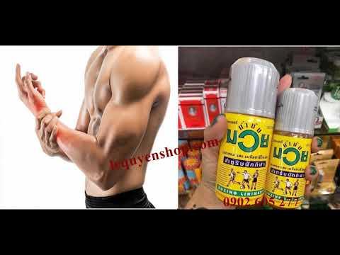 Công dụng của dầu xoa bóp namman muay boxing