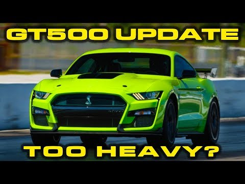 GT500 UPDATE * BYE BYE RED EYE * 2020 Mustang GT500 Weight revealed & 1/4 Mile Estimate