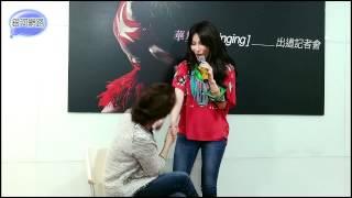 溫嵐對媽媽演唱新歌 -「手印」