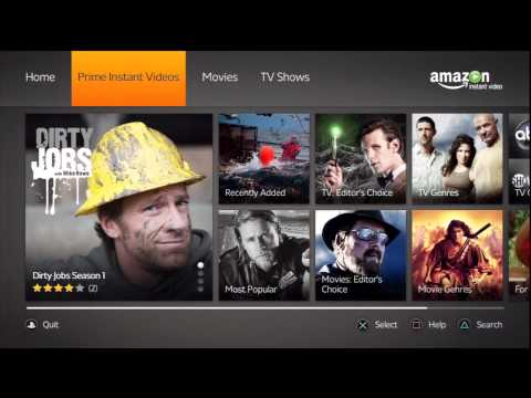 Amazon Instant Video for PS3