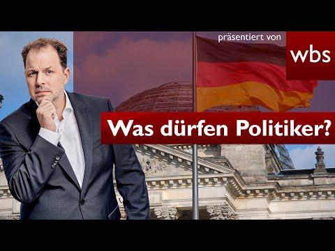 5 Dinge, die Politiker nicht dürfen, sich aber trotzdem erlauben! | Anwalt Christian Solmecke