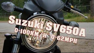 Suzuki Sv650 0 100 Km H