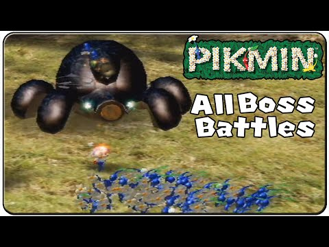 Pikmin 1 All Bosses
