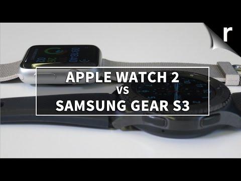 Apple Watch 2 vs Samsung Gear S3: Which smartwatch is best?