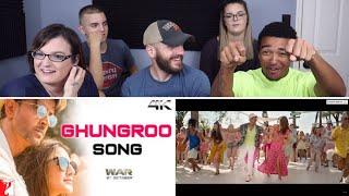 Ghungroo Song REACTION!   War   Hrithik Roshan, Vaani Kapoor   Vishal and Shekhar ft, Arijit Singh