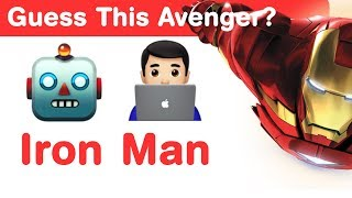 Avengers Emoji Challenge! Guess The Avengers Characters