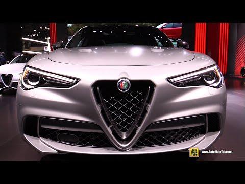 2020 Alfa Romeo Stelvio Quadrifoglio Nring - Exterior and Interior Walkaround - 2019 NY Auto Show