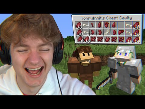 Minecraft's Surgery Mod is actually funny… - TommyInnit