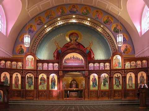 Trisigion Hymn - St. George Cathedral Choir 2008 Greek ...