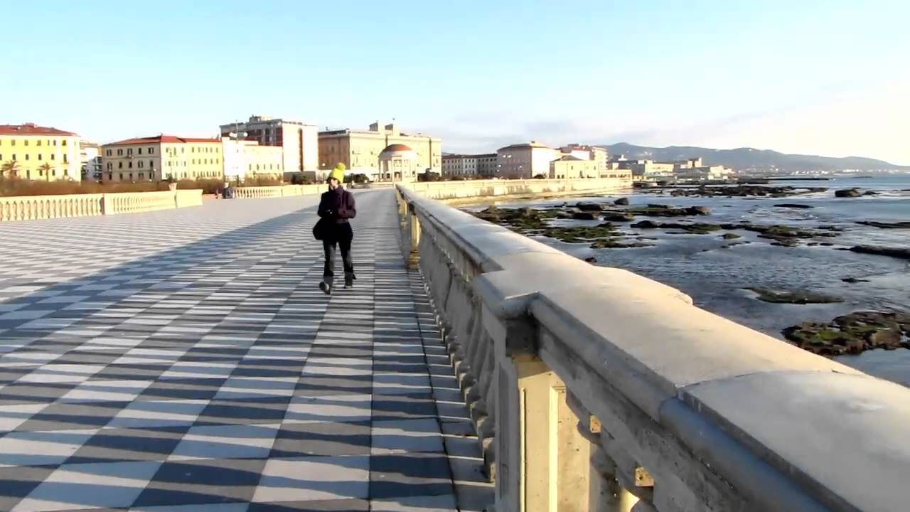 Livorno, Terrazza Mascagni - Canon Powershot SX1 IS HD 720p - YouTube