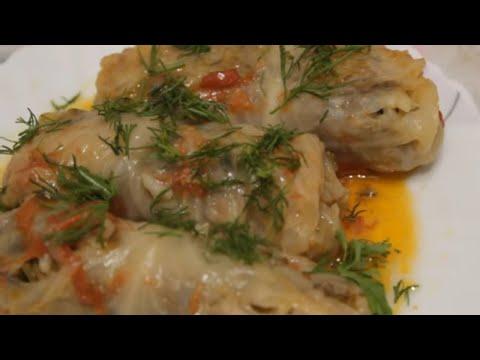 Долма Из Молодой Капусты☆Ну очень вкусные голубцы☆Азербайджанская Кухня!☆Dadlı KƏLƏM Dolmasi