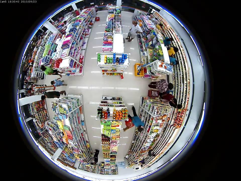 Vivotek ip7160 2mp 360 fisheye lens overview for Fish eye camera