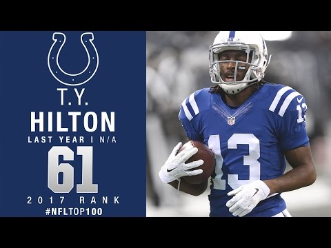 #61: T.Y. Hilton (WR, Colts) | Top 100 Players of 2017 | NFL
