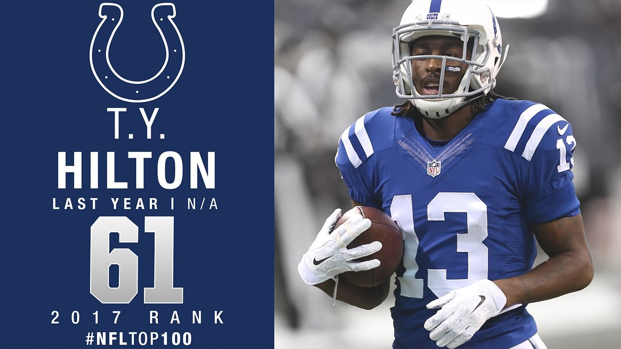 61 T Y Hilton WR Colts Top 100 Players of 2017