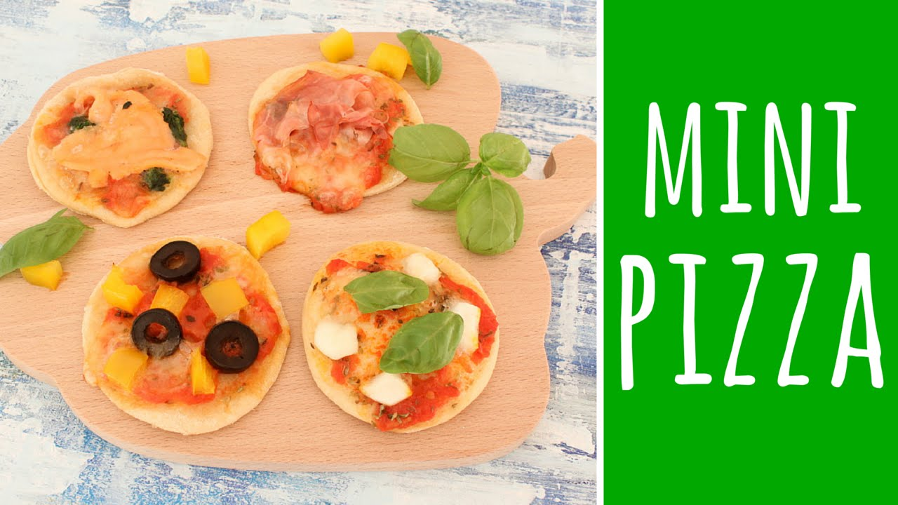 mini pizza fingerfood zu silvester party rezept youtube. Black Bedroom Furniture Sets. Home Design Ideas