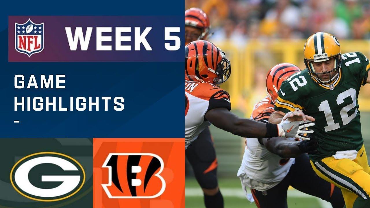 Live Updates: Green Bay Packers at Cincinnati Bengals