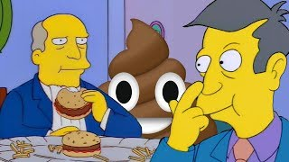 Steamed Hams but Skinner serves poop and Chalmers thinks it's just a joke