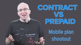 Prepaid vs Contract mobile plans