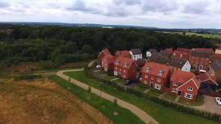 Park Farm Ashford Kent England Dji Phantom 4