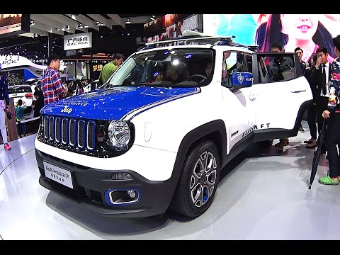 2016, 2017 Jeep Renegade Green Hornet debuts on the Beijing Auto Show