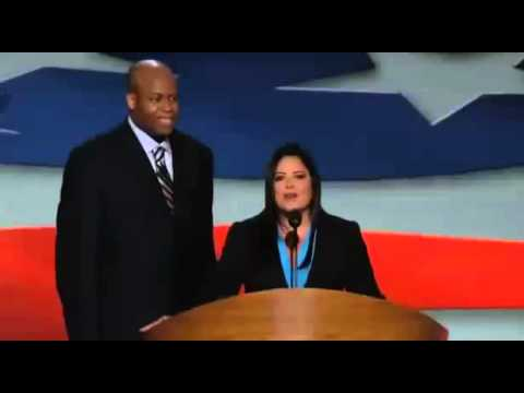 DNC 2012 - Obamas Brother & Sister speak